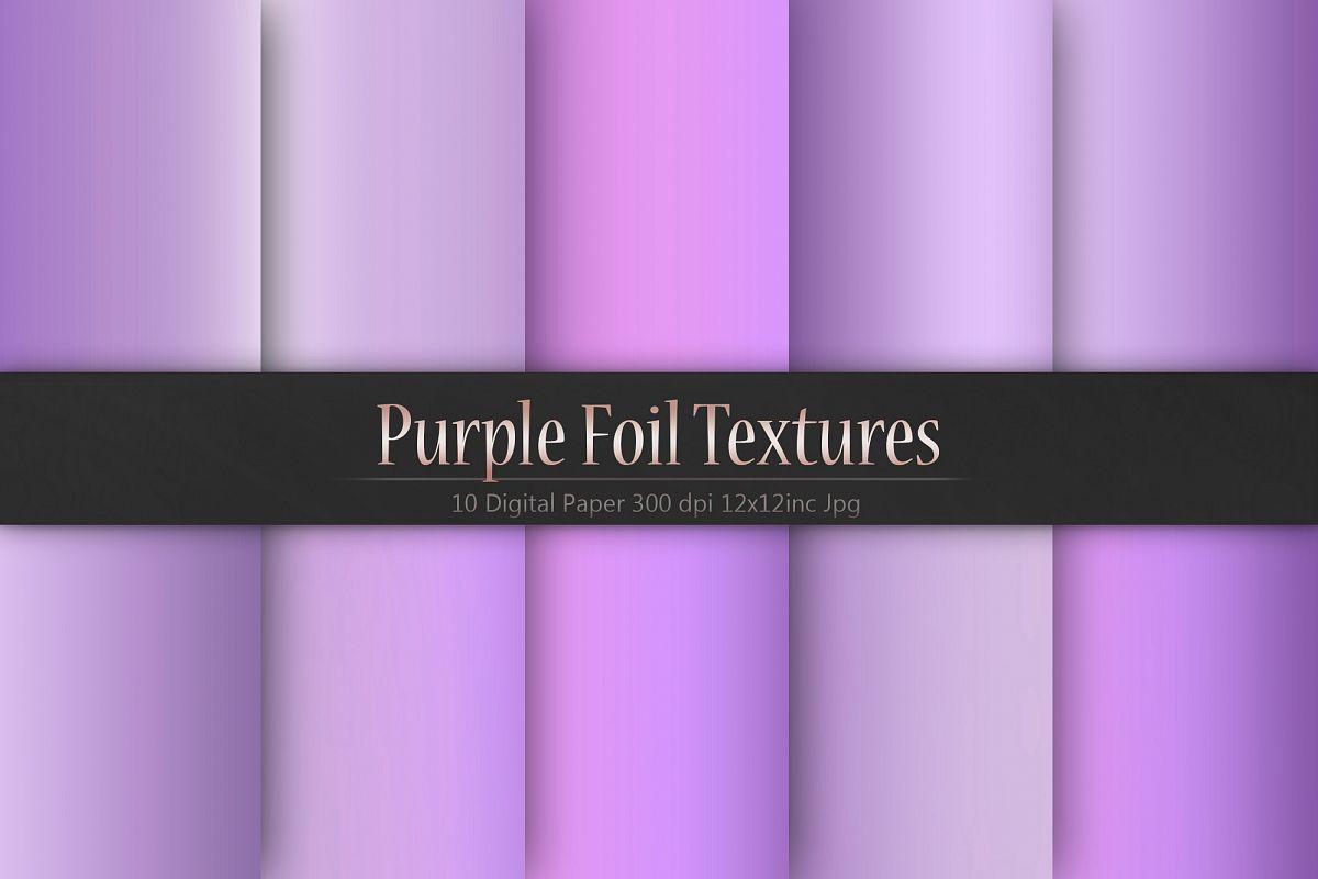 Purple Foil Textures example image 1
