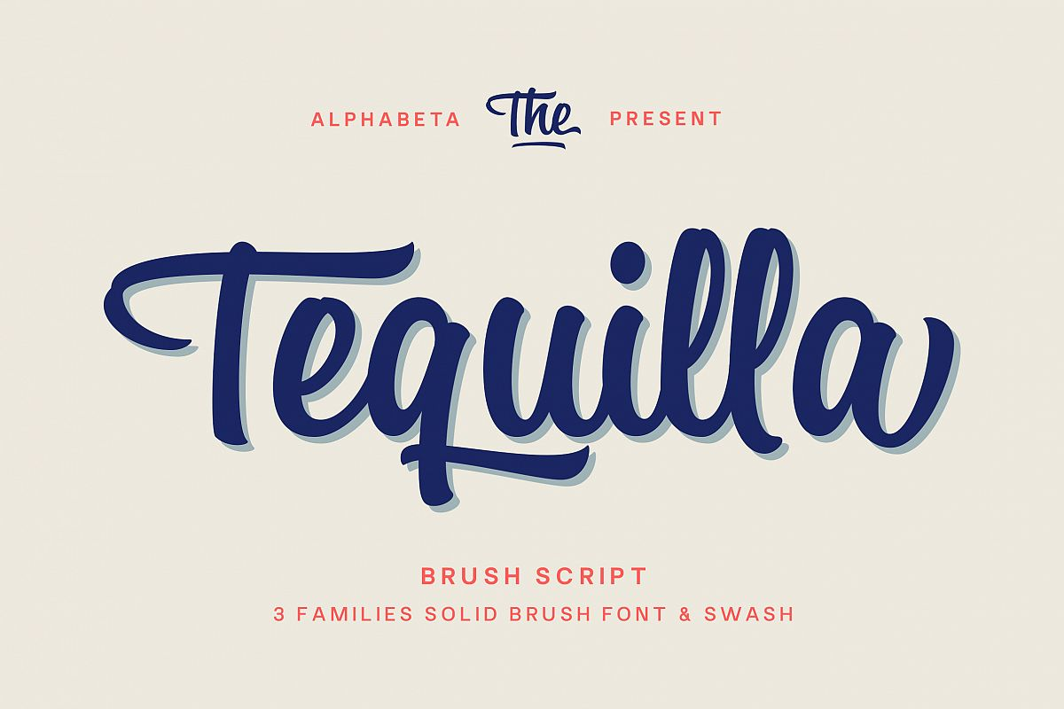 Tequilla Script example image 1