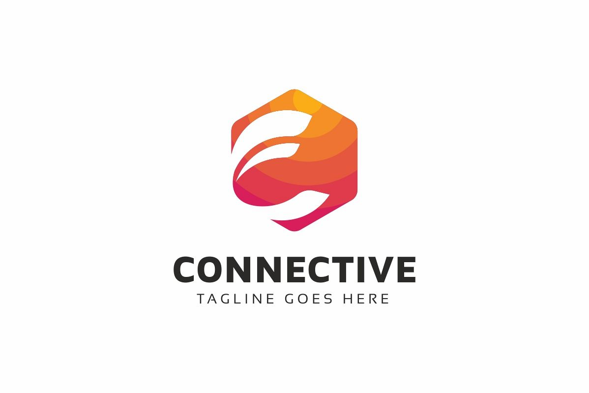 Connective C Letter Logo example image 1