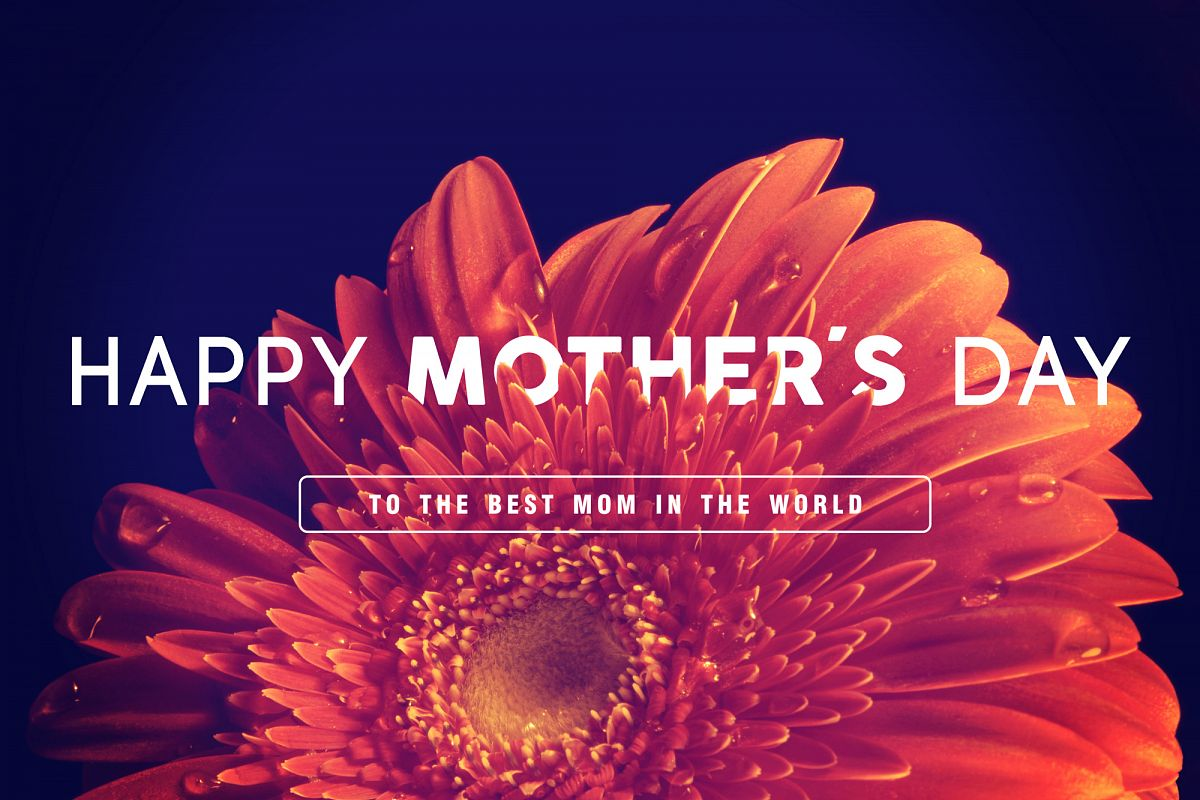 Happy Mothers day greeting card example image 1