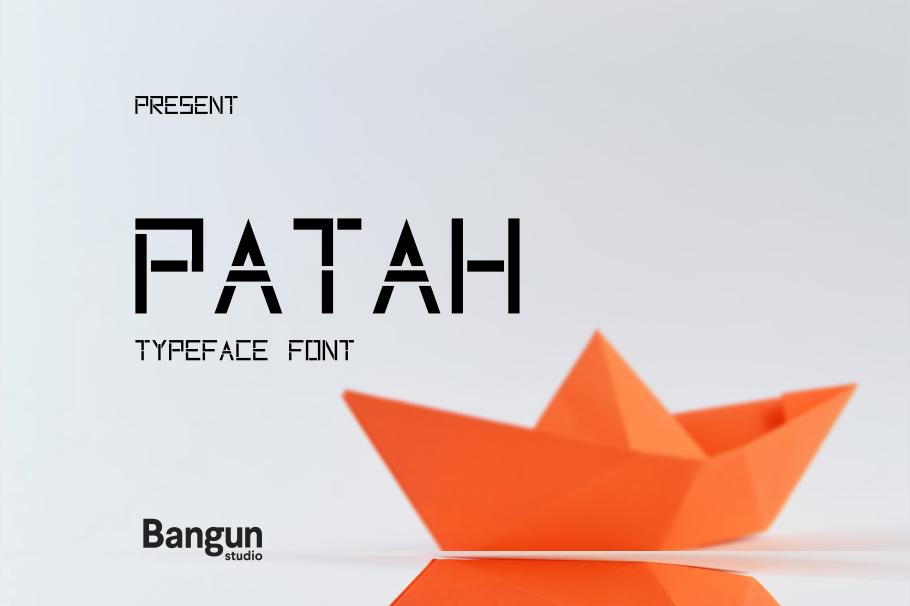 Patah Font example image 1