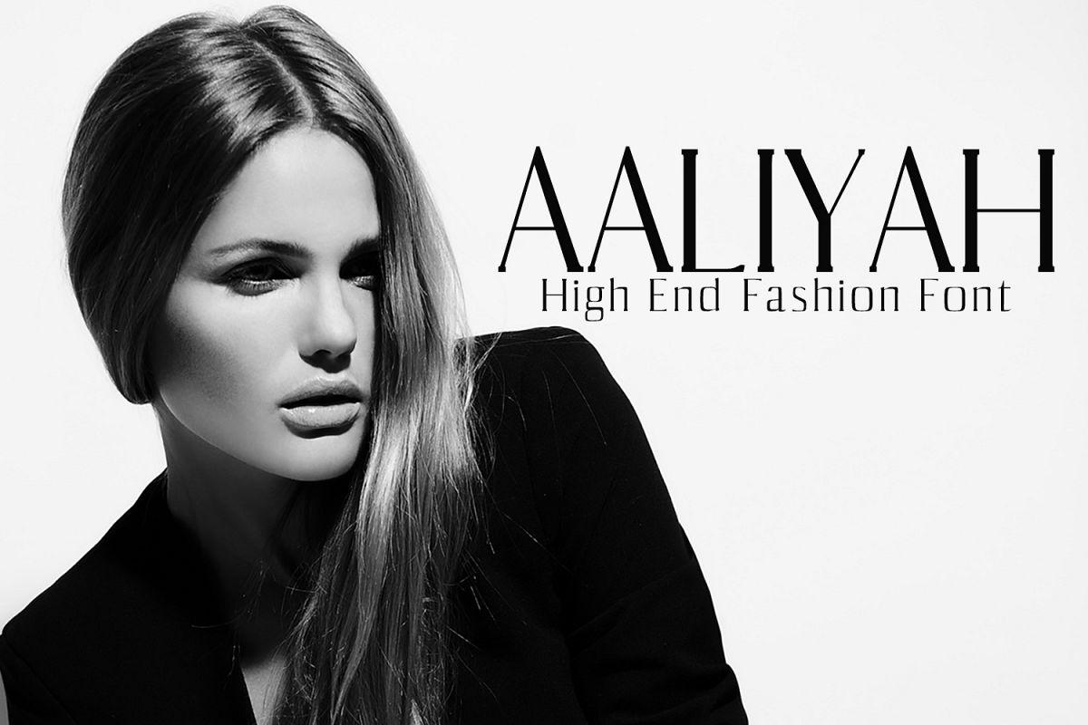 Aaliyah Serif Typeface example image 1