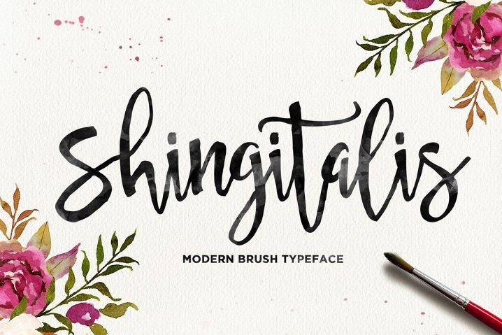 Shingitalis Typeface example image 1