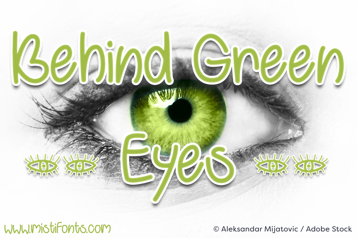 Behind Green Eyes example image 1