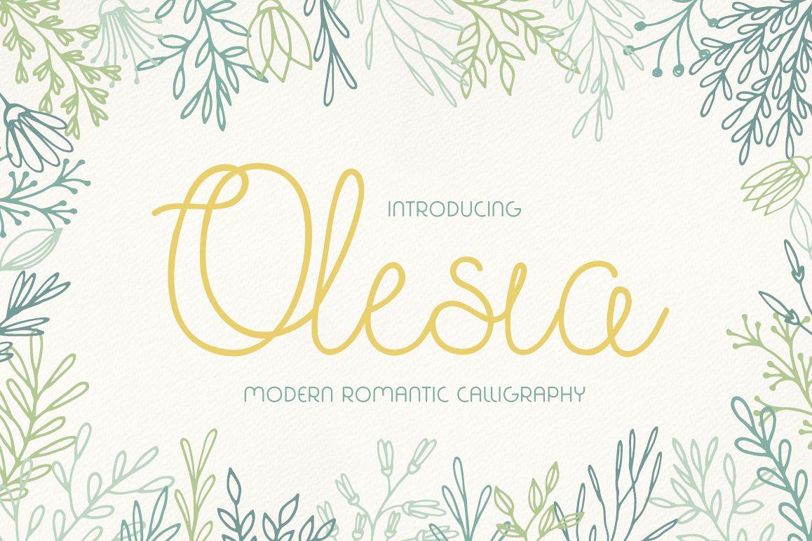 Olesia Script example image 1