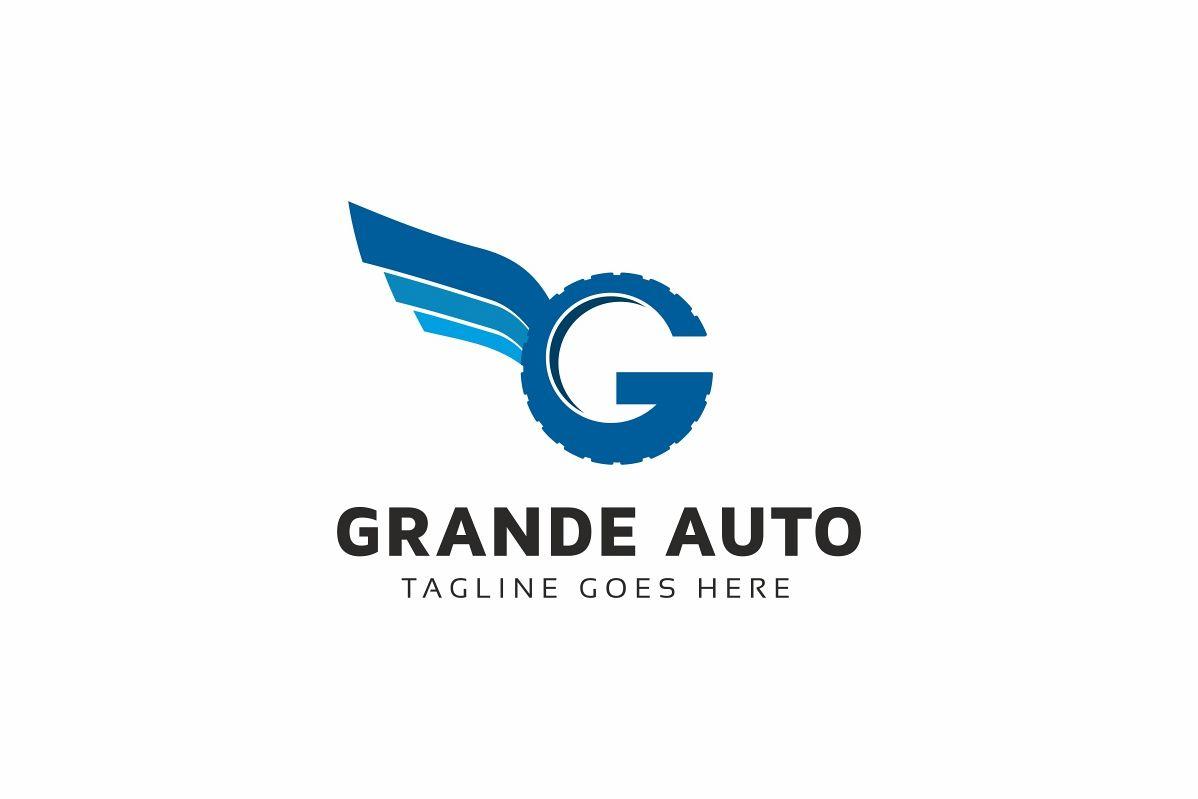 Grande Auto G Letter Logo example image 1