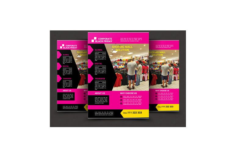 Black Friday Flyer example image 1