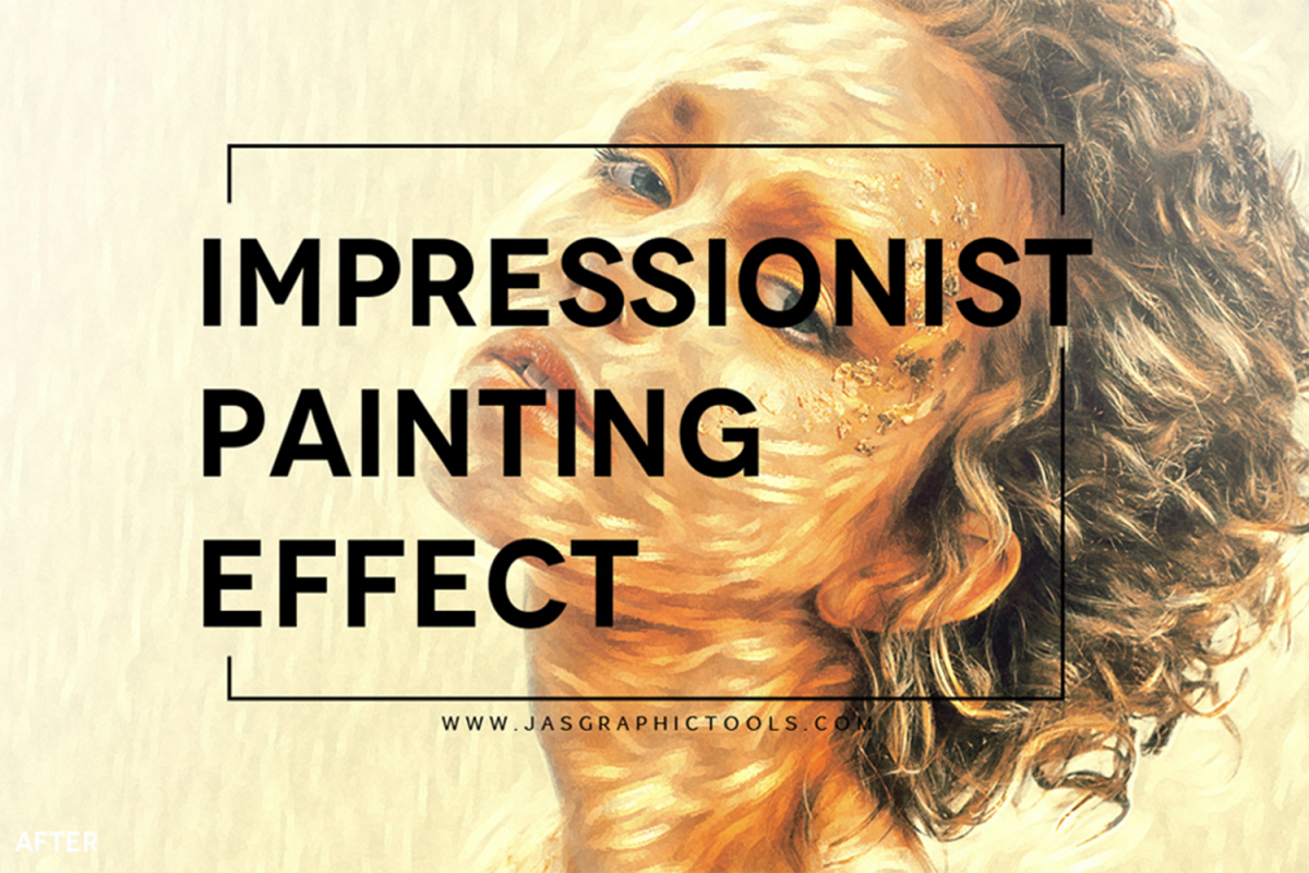 Impressionist Painting Effect Actions example image 1