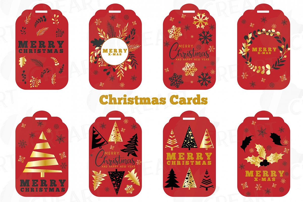 merry christmas printable cards