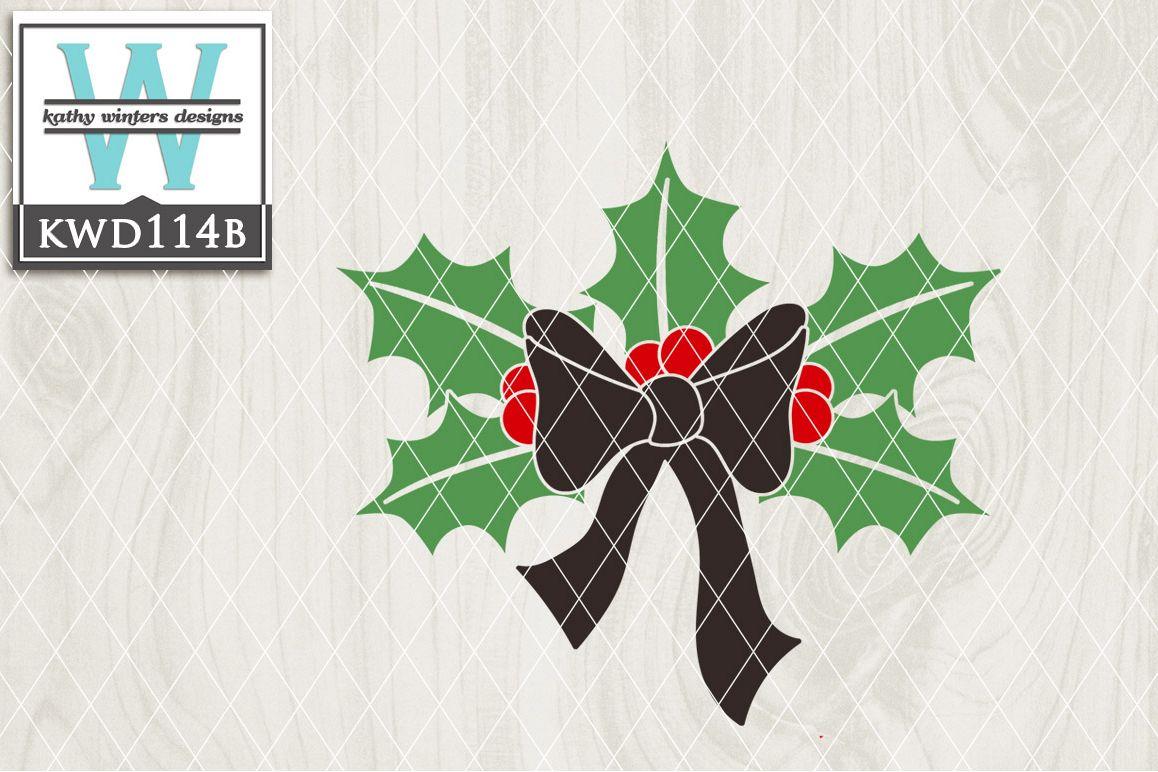 Christmas Cutting File KWD114B example image 1