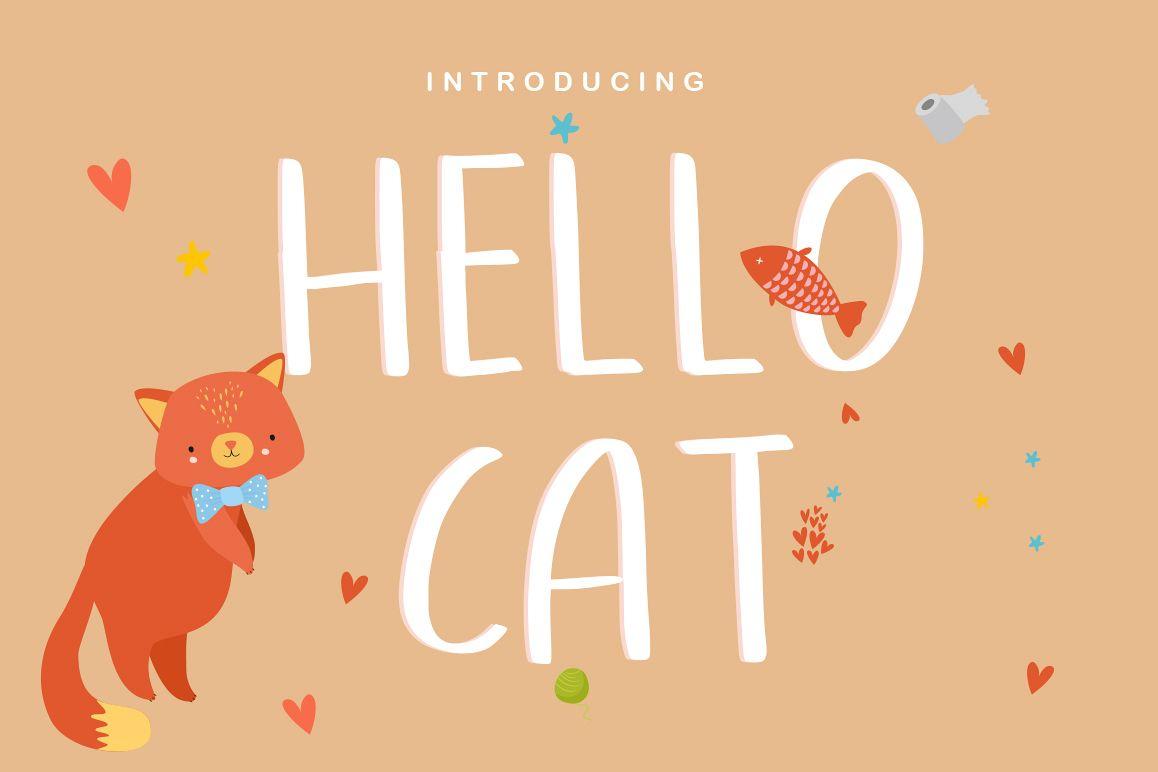 Hellocat - Fun Sans Serif example image 1
