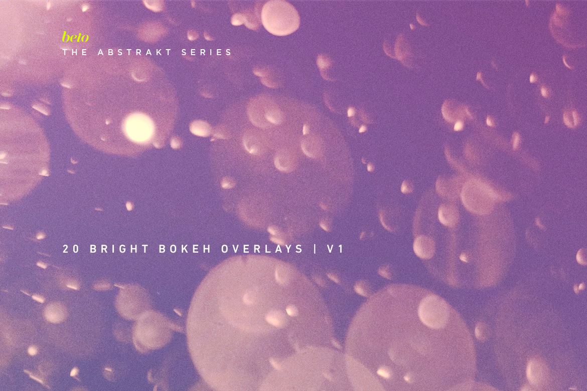 Bright Bokeh Overlays V1 example image 1