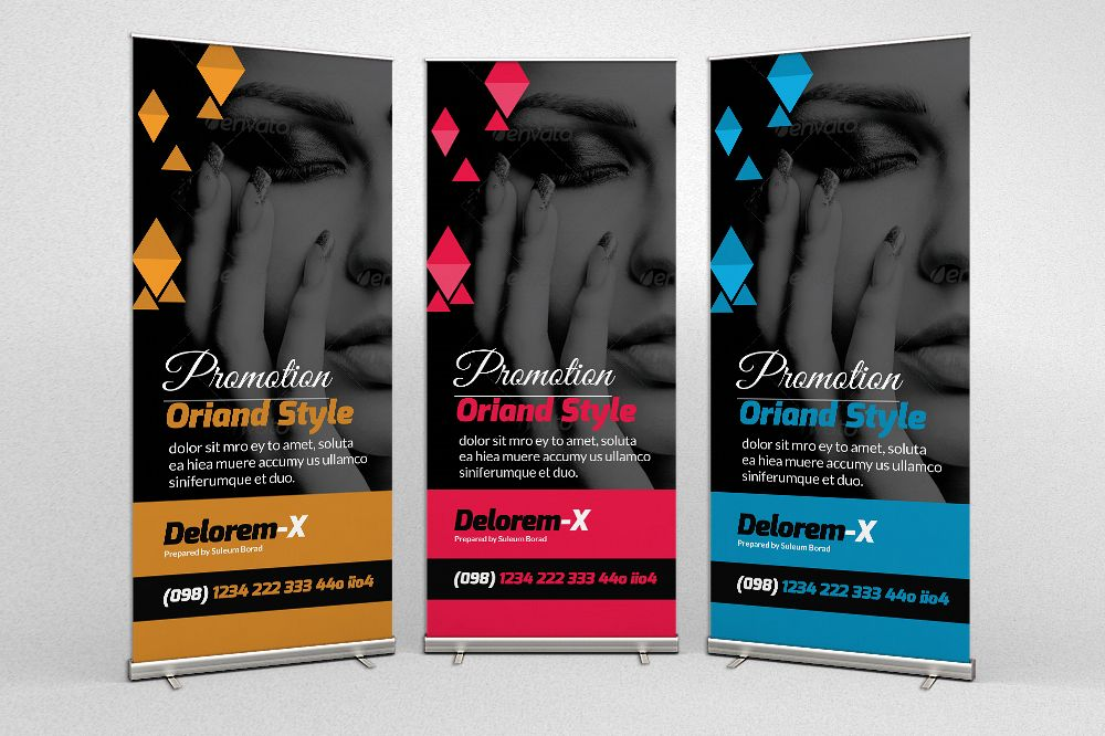 Fashion Promotion Roll Up Banners example image 1