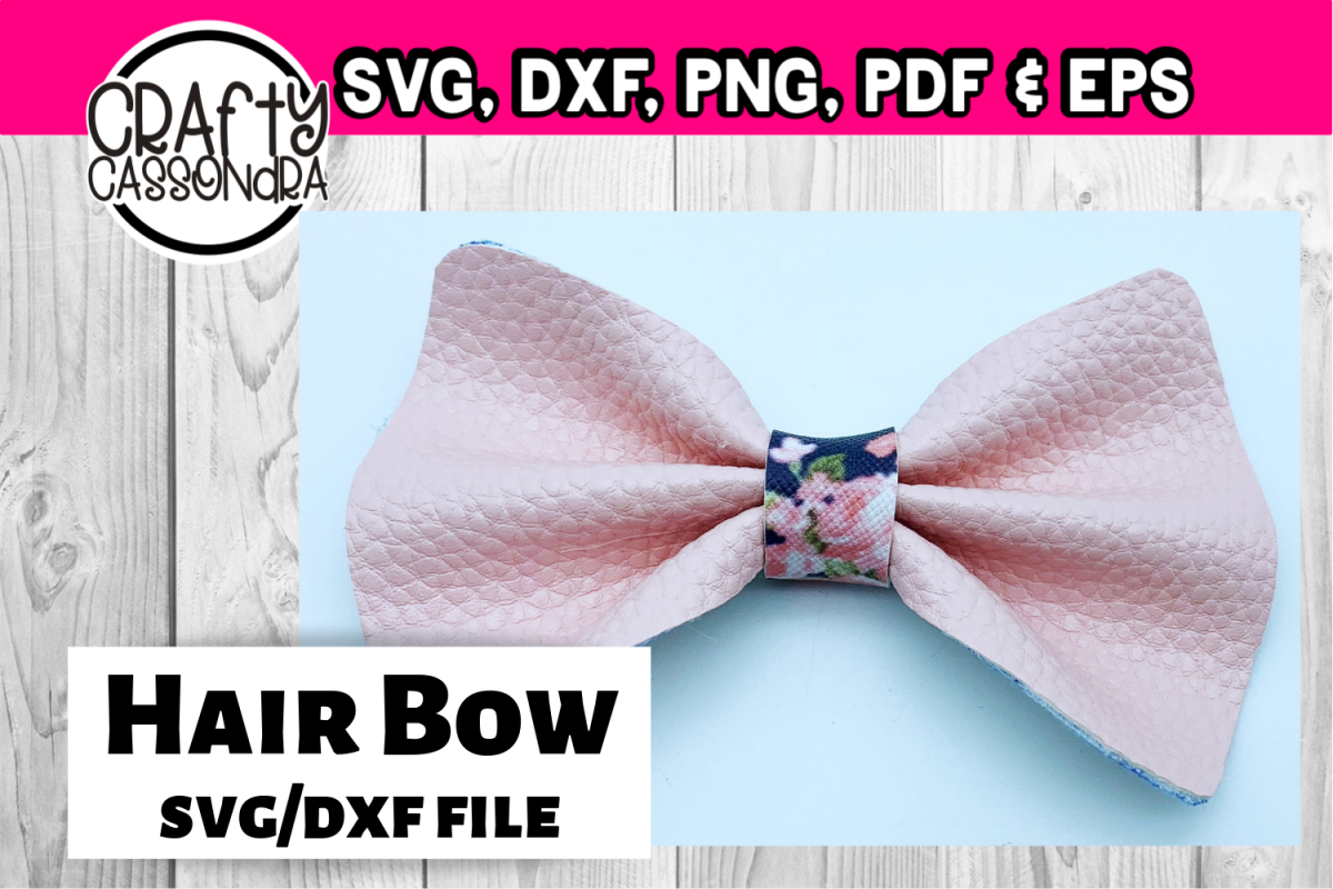 Hair Bow Svg File For Diy Hair Bows The Pinch Bow