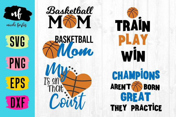 Basketball SVG Bundle example image 1