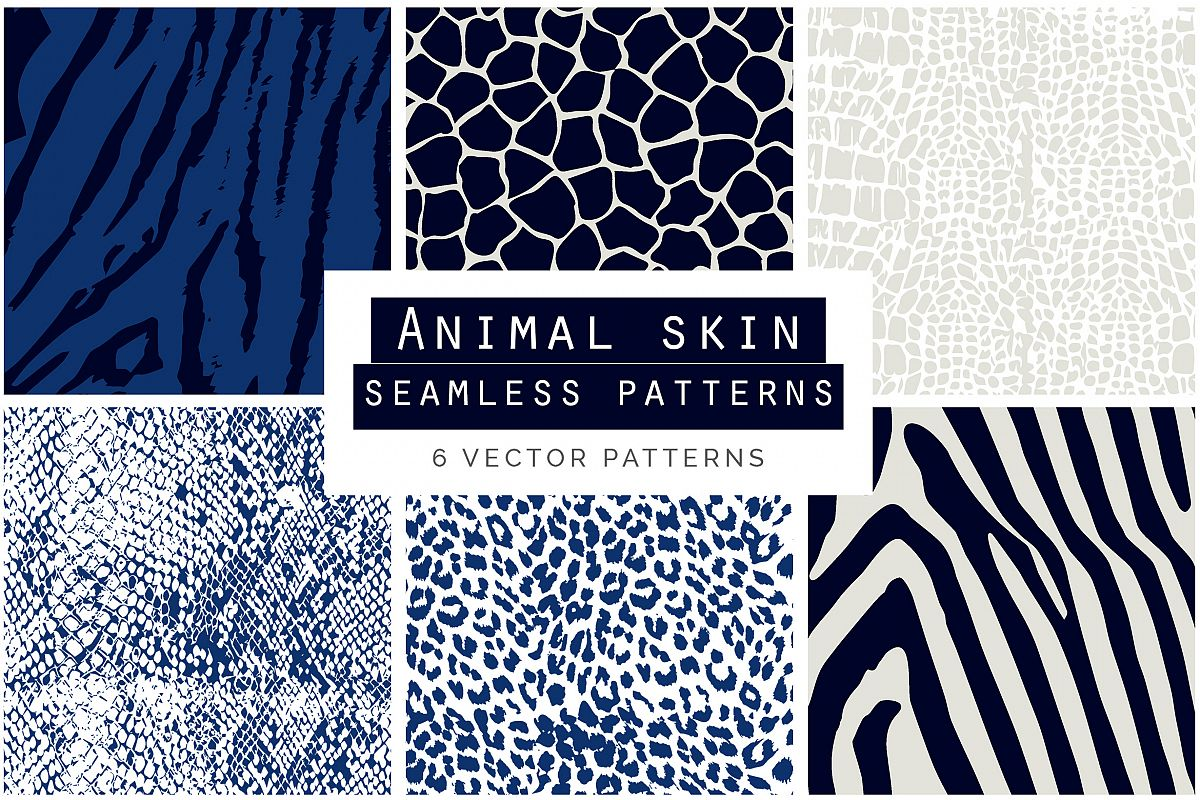 Animal Skin Seamless Patterns example image 1