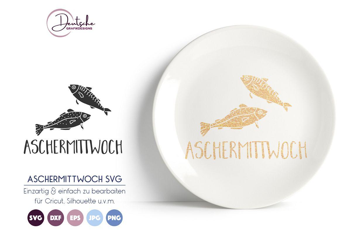 Aschermittwoch SVG example image 1