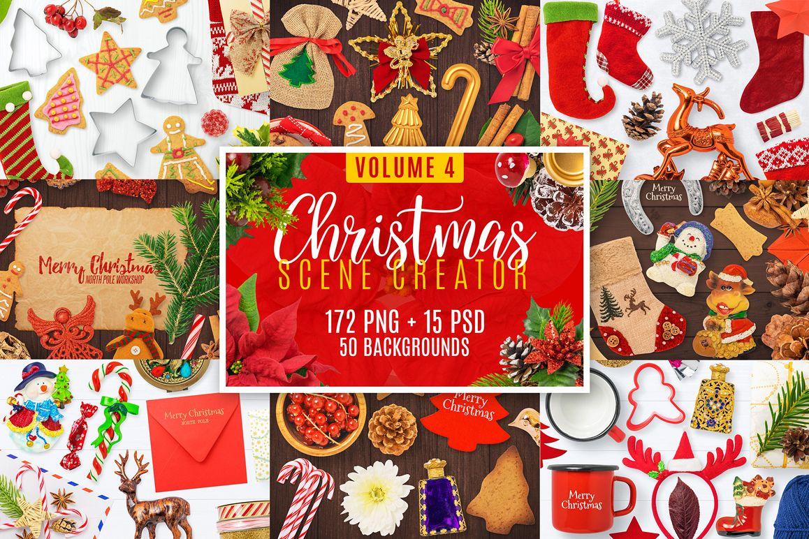 Christmas Scene Creator Volume 4 example image 1