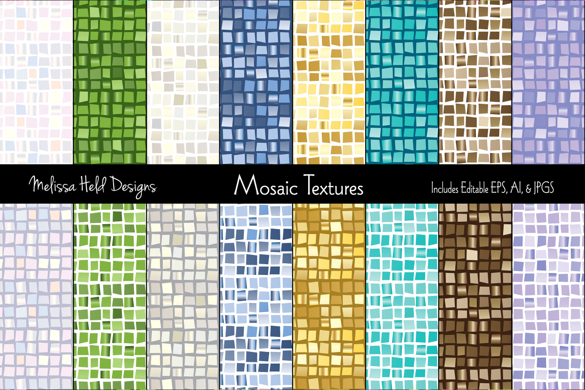 Mosaic Textures example image 1