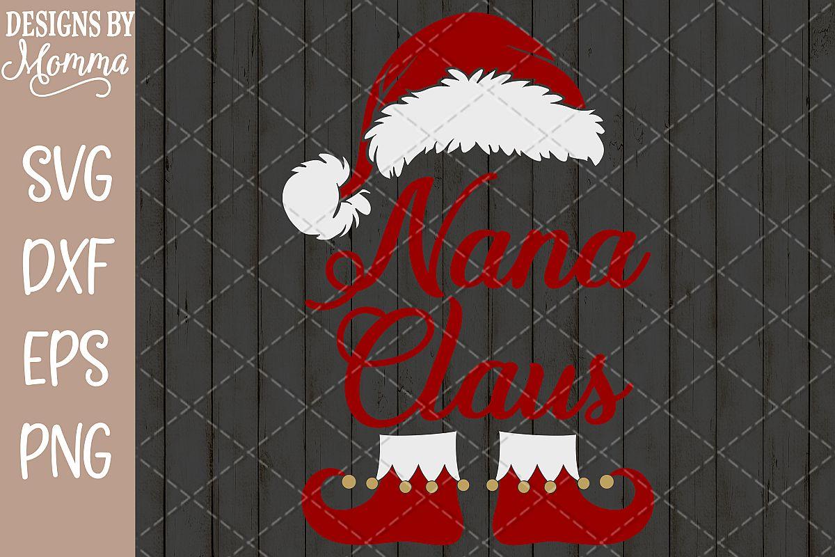 Nana Claus SVG example image 1