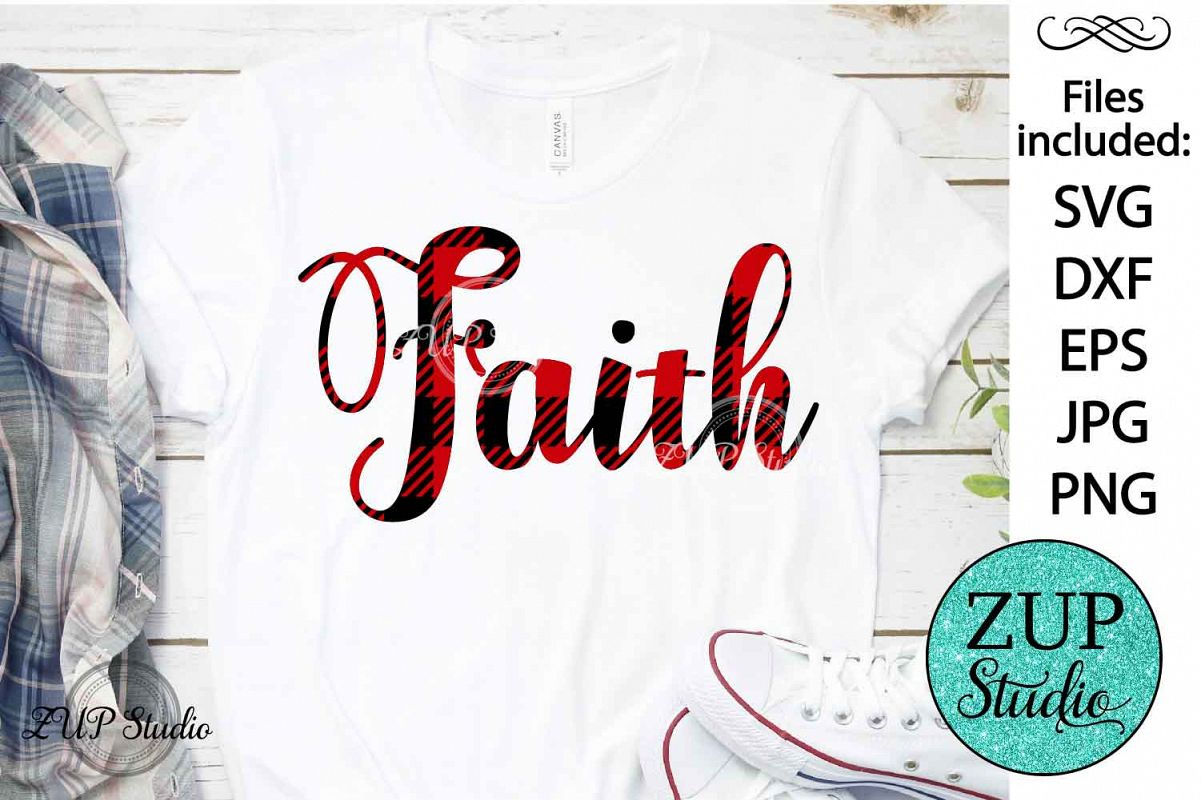 Faith word SVG Design Cutting Files 369 example image 1