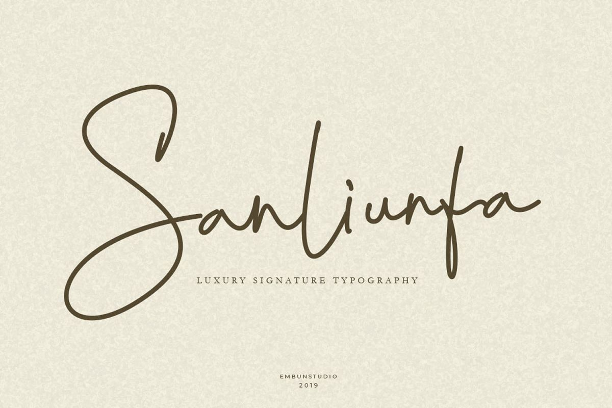 Sanliurfa Stylish Signature example image 1