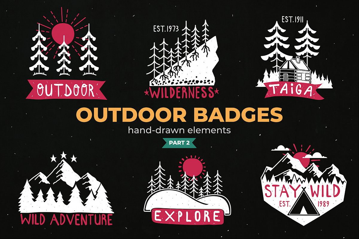 Outdoor Logo Badges, Part II example image 1