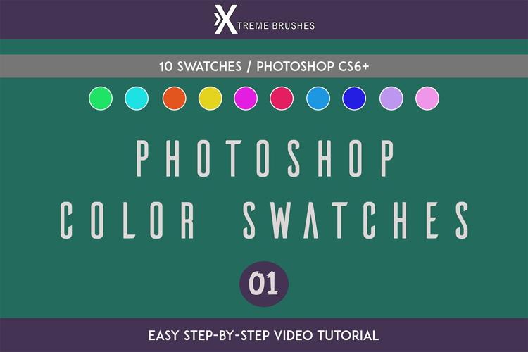 Photoshop Swatches example image 1