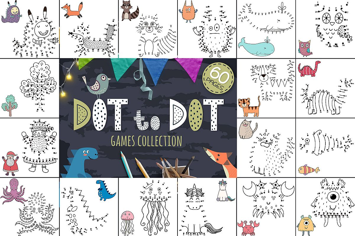 Dot To Dot Games Collection
