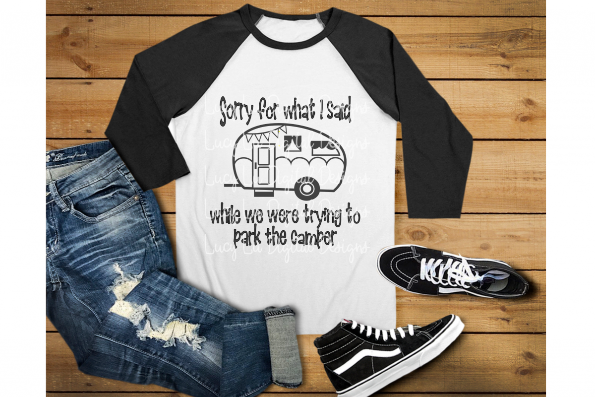 Sorry For What I Said Camper example image 1