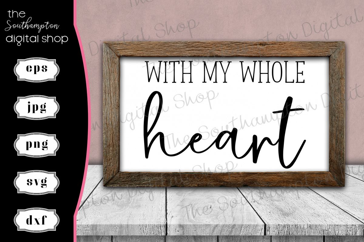 With My Whole Heart example image 1