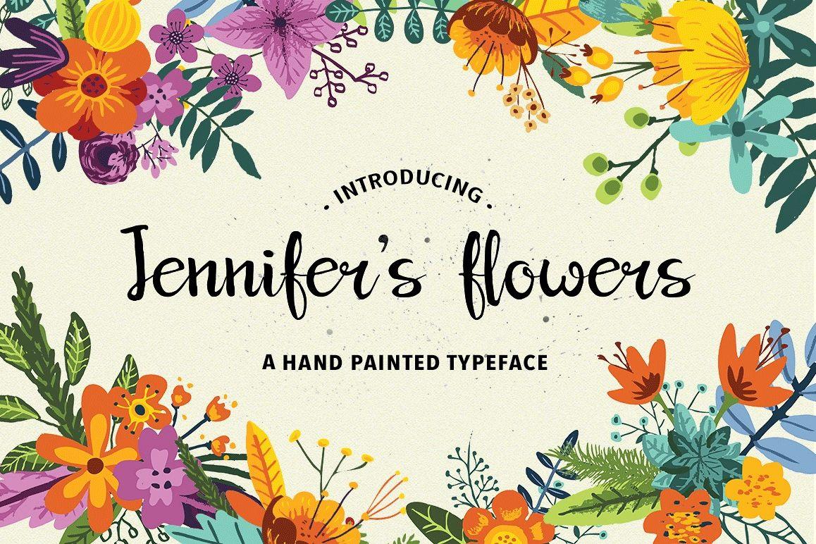 Jennifer's Flowers Script example image 1
