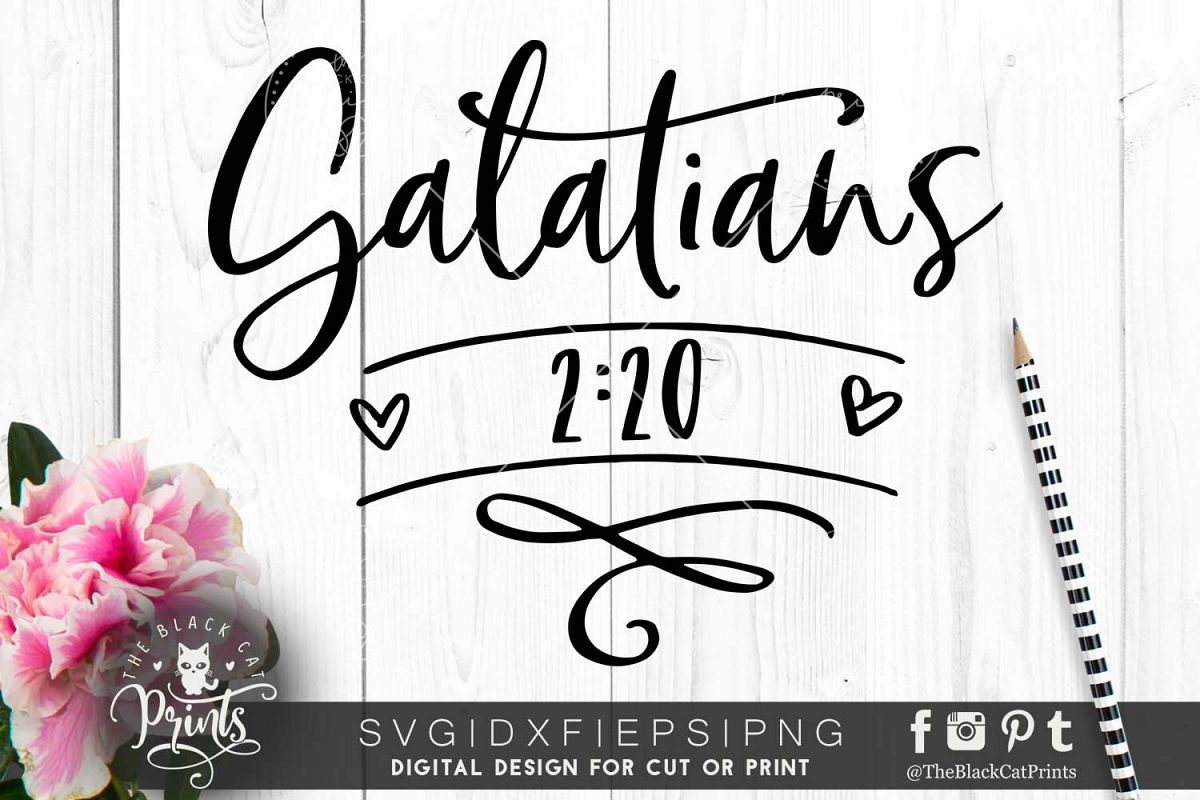 Galatians 220 SVG DXF PNG EPS example image 1