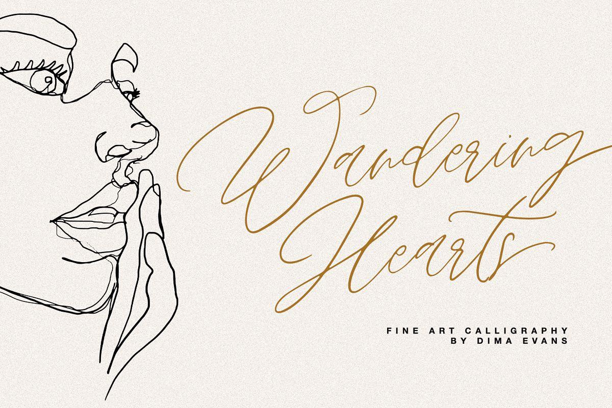 Wandering Hearts Script Duo example image 1