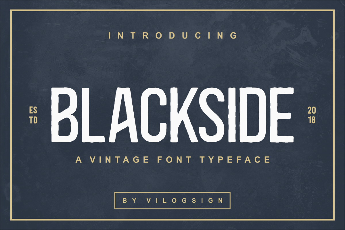 Blackside Font example image 1