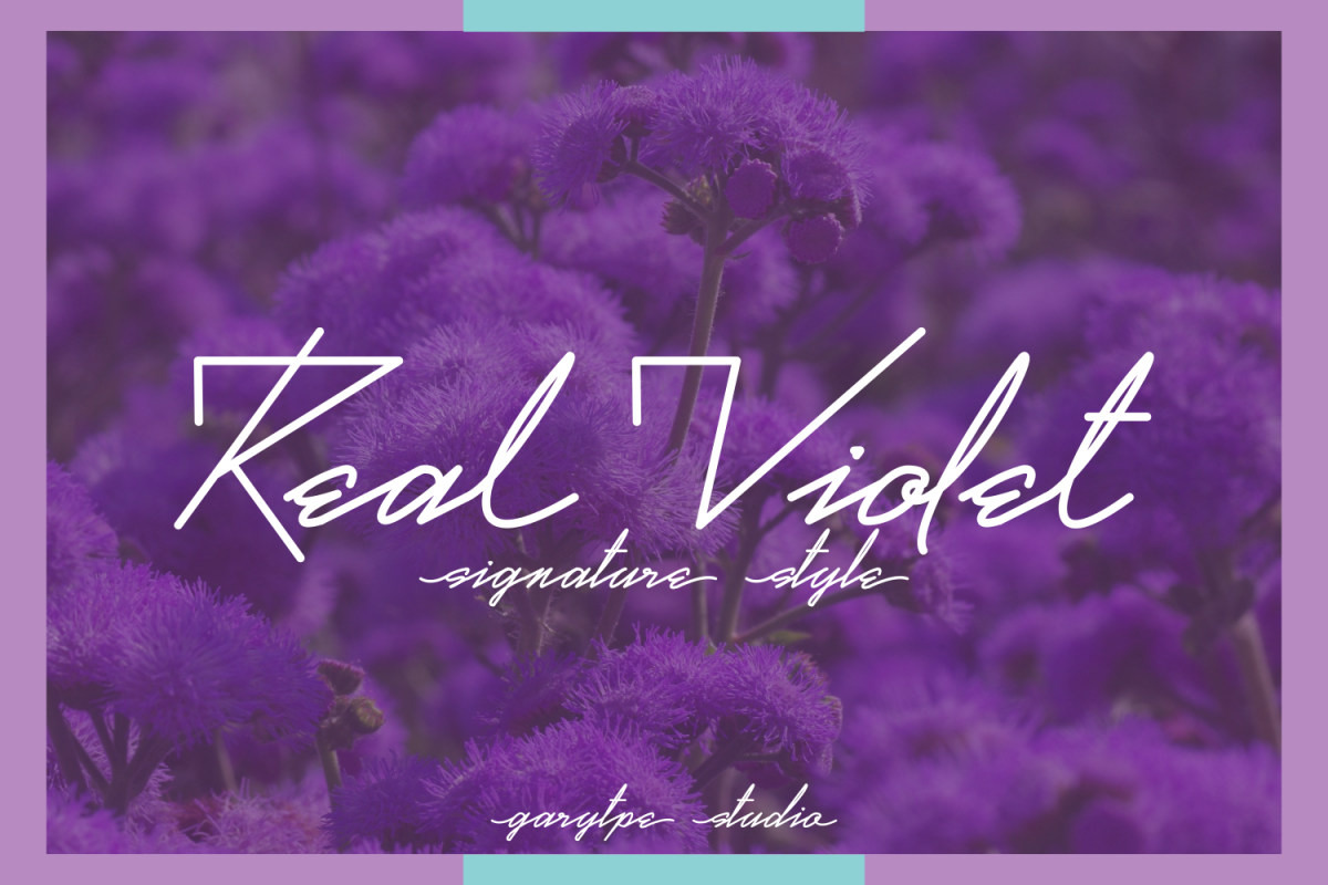 Real Violet example image 1