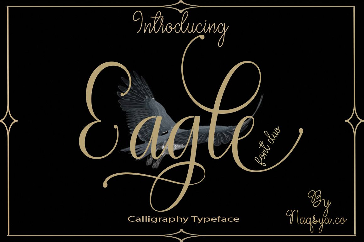 Eagle Font duo example image 1