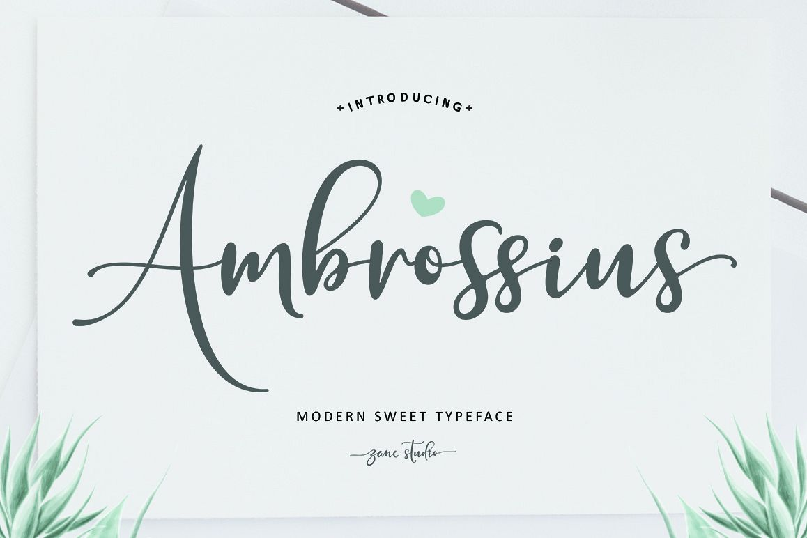 Ambrossius Script example image 1