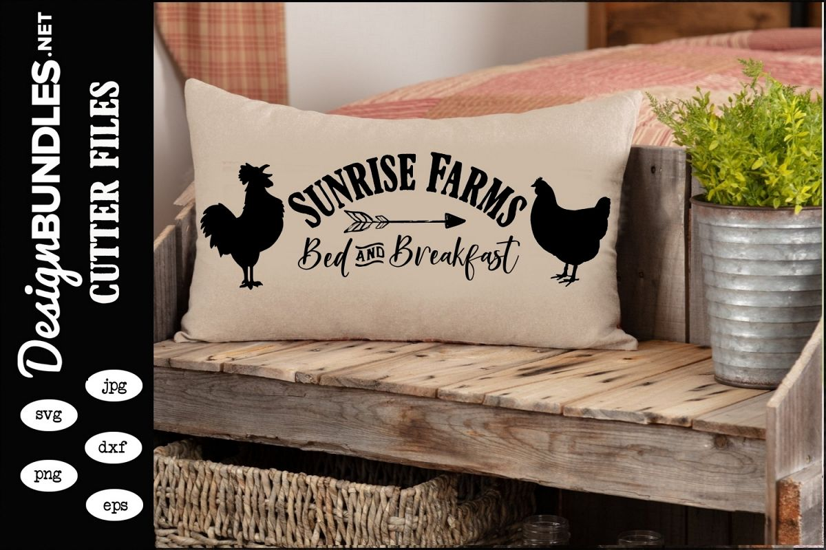 Sunrise Farms SVG example image 1