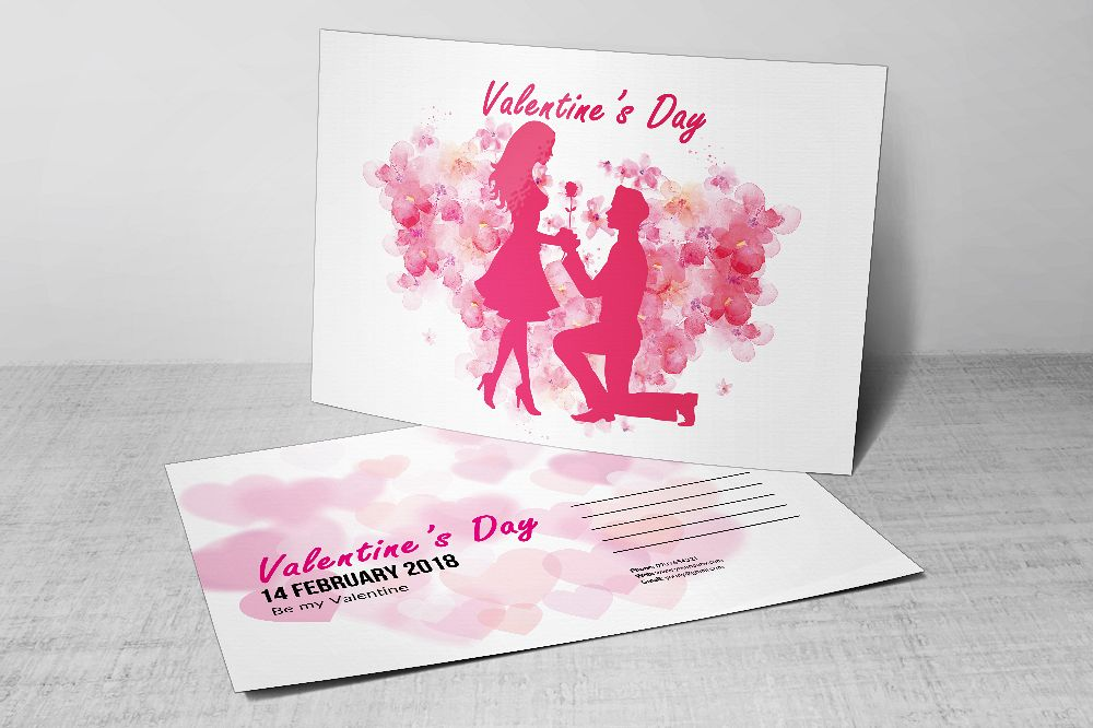 Valentine's Day Postcards example image 1
