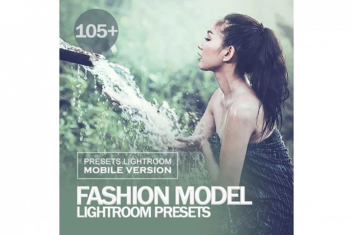 Fashion Model Lightroom Mobile Presets example image 1