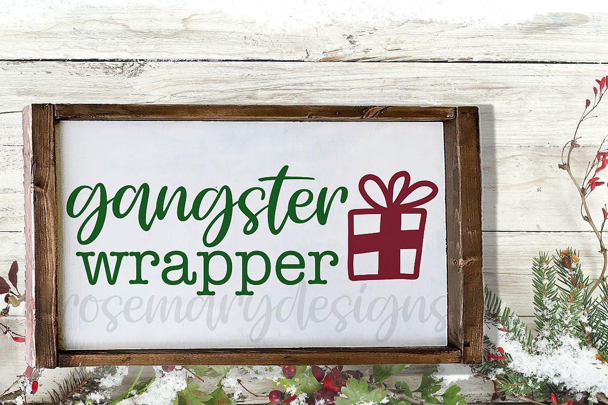 Gangster Wrapper SVG example image 1