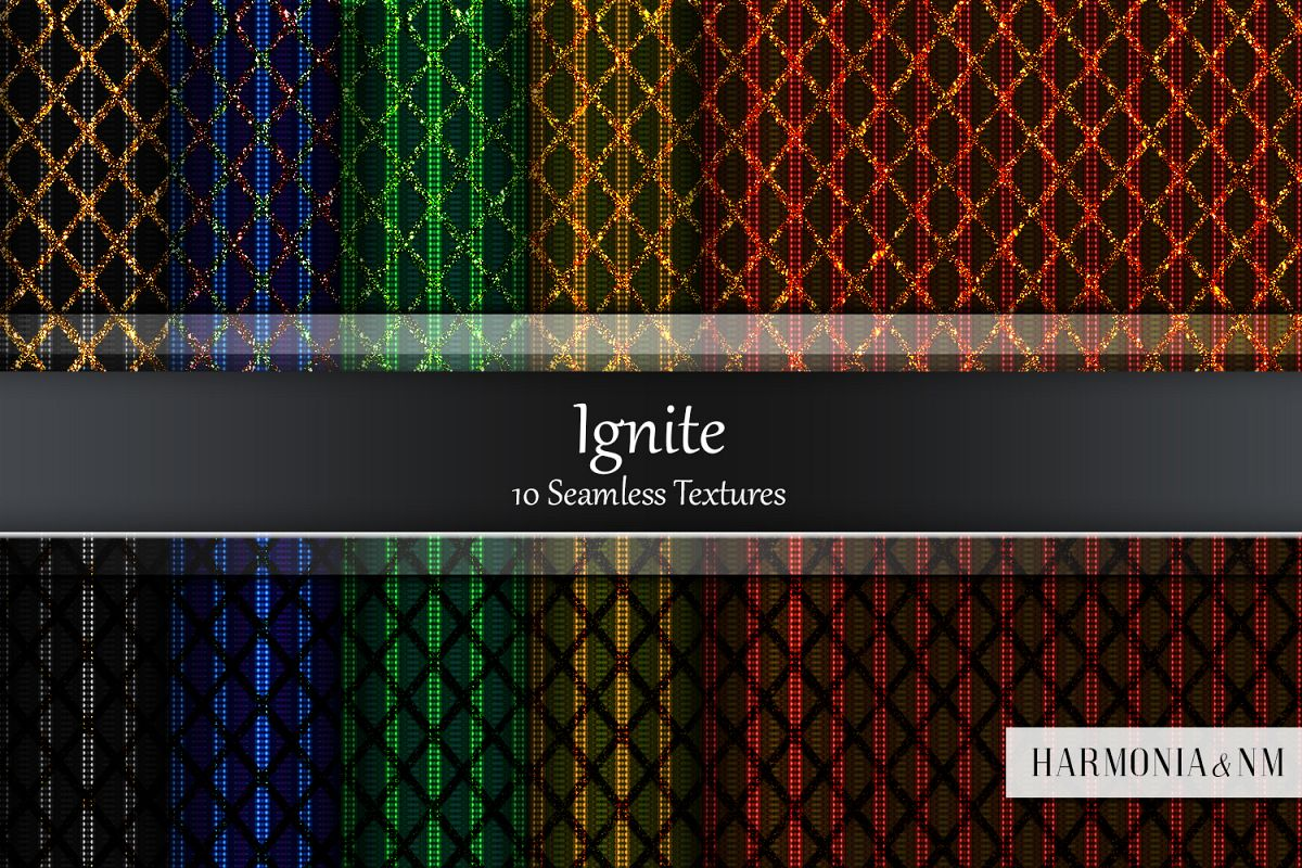 Ignite 10 Seamless Textures example image 1