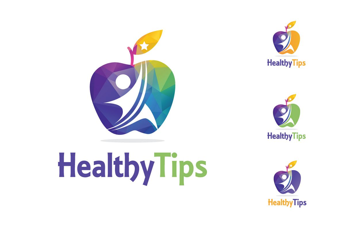 Healthy Life, Fitness Logo example image 1