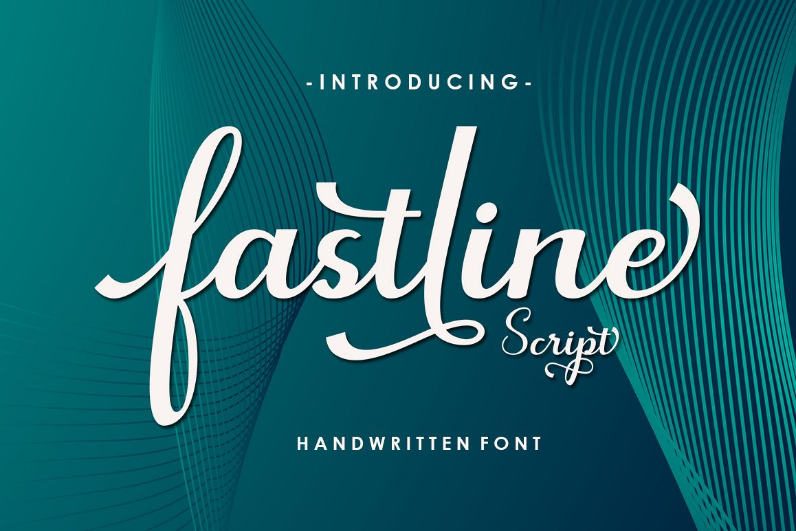 Fastline Script example image 1