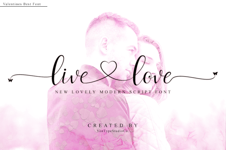 live love font example image 1
