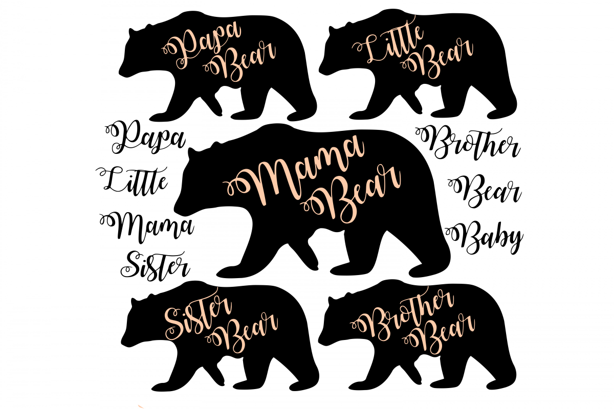 Mama bear SVG example image 1