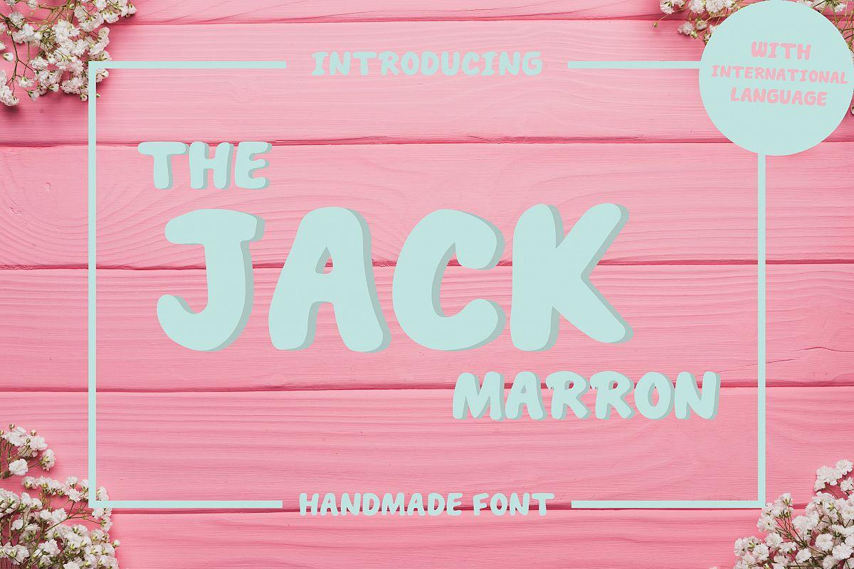 THE JACK MARRON example image 1
