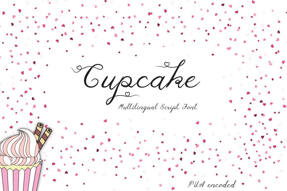 Cupcake Multilingual Script Font example image 1