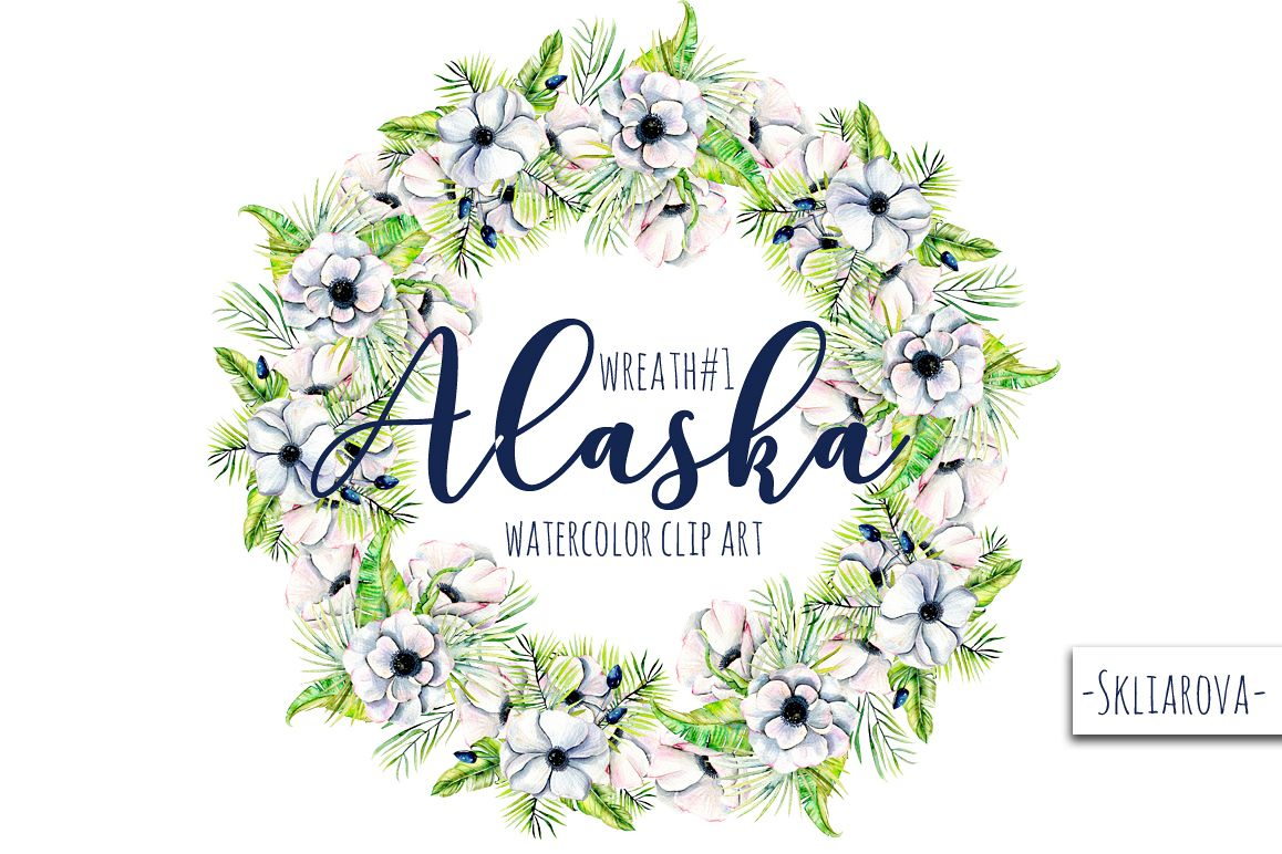 """Alaska"". Wreath #1 example image 1"